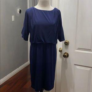 New York & Company navy blue dress
